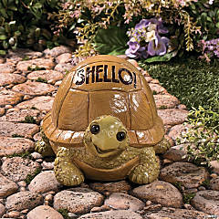 """Shello!"" Turtle Garden Statue"