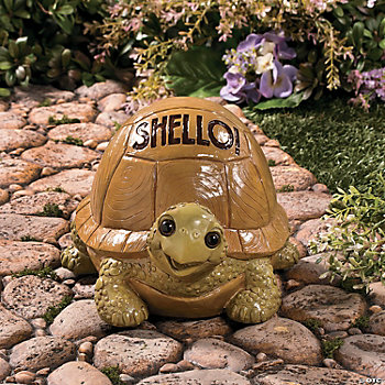 Shello turtle garden statue party supplies outdoor Turtle decorations for home