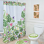 Palm Leaf Shower Curtain