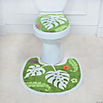 Palm Leaf Toilet Set