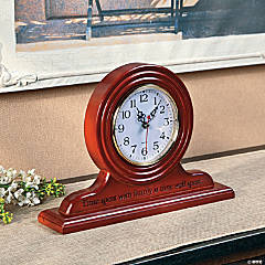 """Time Spent with Family"" Clock"