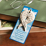 Angel Wing Ornaments with Verse Card