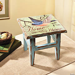 """Home Sweet Home"" Stool"