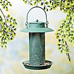 Green Bird Feeder