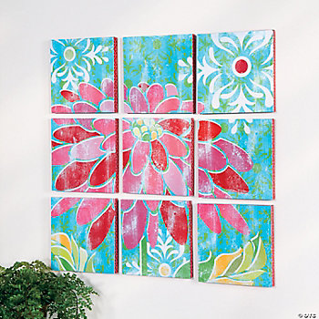 Flower Wall Décor