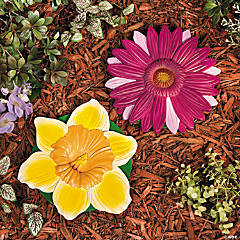 Bright Flowers Stepping-Stones