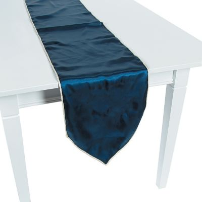 Quickview · Image Of Navy Table Runner With Sku:91/8639