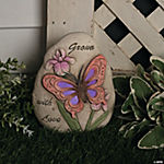 """Grown with Love"" Stone with LED Light"
