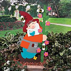 Gnome Yard Stake