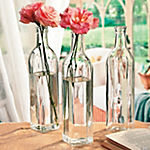 Clear Bottle Vases