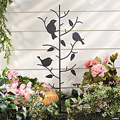 Birds on a Branch Yard Stake
