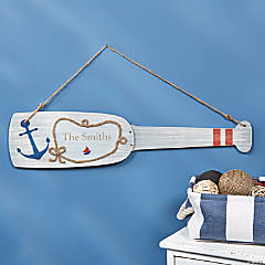 Personalized Oar Décor