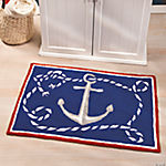 Nautical Hooked Rug