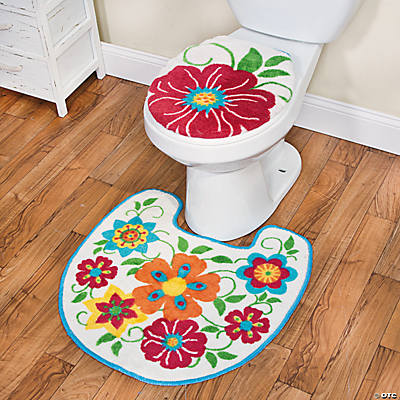 Spring Brights Toilet Set