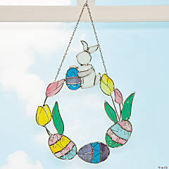 Sun-Catching Egg Wreath