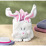 Plush Bunny Tissue Box Cover