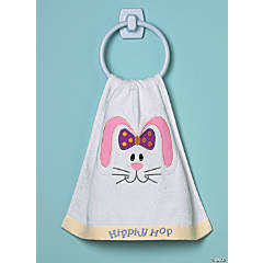 Terry Cloth Easter Hand Towel
