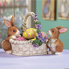 Bunnies with Basket