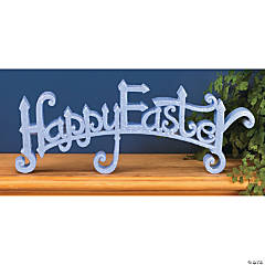 """Happy Easter"" Tabletopper"