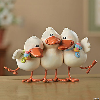 Playful Ducks