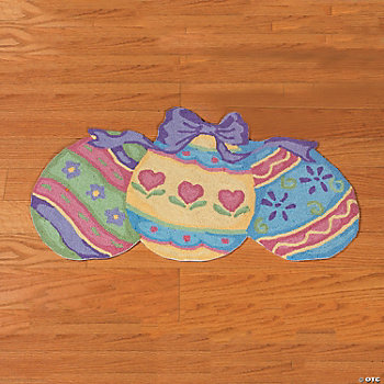 Hooked Easter Egg Rug Oriental Trading Discontinued