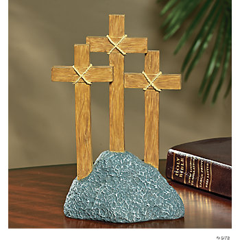 Three Cross Easter Tabletopper