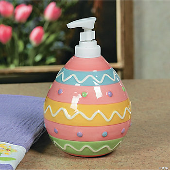 Egg-Shaped Lotion/Soap Dispenser