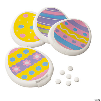 Easter Eggs with Mints