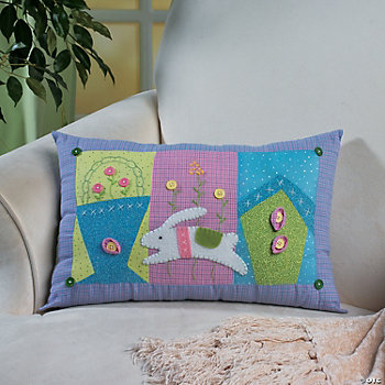 Pastel Easter Pillow