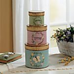 """Welcome Spring"" Stacking Boxes"