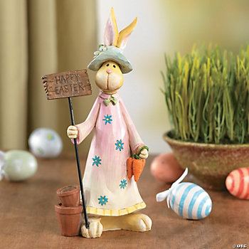 """Happy Easter"" Bunny Tabletopper"