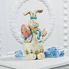 Carved Bunny Figurine