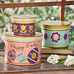 """Happy Easter"" Stacking Boxes"
