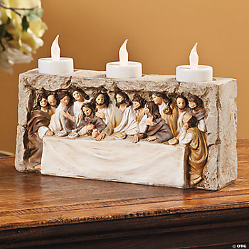 Last Supper Candleholder