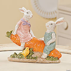 Easter Bunny Seesaw Couple