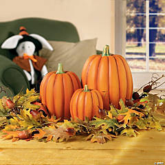 Medium Decorative Pumpkin