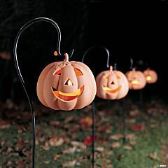Jack-O'-Lantern Yard Lanterns