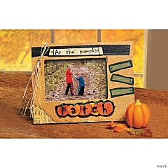 """At the Pumpkin Patch"" Photo Frame"