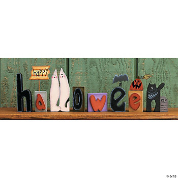 """Happy Halloween"" Blocks"