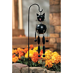 Cat Jingle Bell Yard Stake