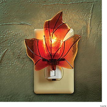 Fall Leaf Night-Light