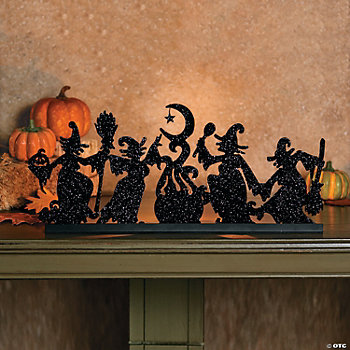 Dancing Witches Tealight Holder