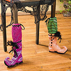 Witch's Boot Chair Leg Covers