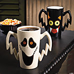 Primitive Halloween Mugs