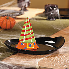 Witch's Hat Serving Tray