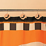 Halloween Silhouette Shower Curtain Hooks