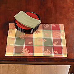 Fall Plaid Place Mats