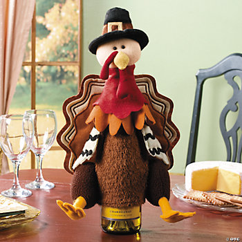 Turkey Wine Bottle Cover