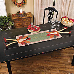 Turkey Table Runner