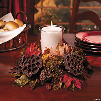 Harvest Ring with Candleholder
